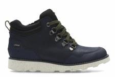 Clarks 'DexyHi GTX' Boys Boots (Navy)
