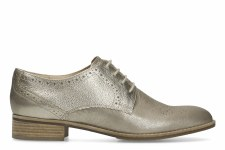 Clarks 'Netley Rose' Ladies Brogues (Champagne Combi)