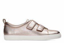 Clarks 'Glove Daisy' Casual Trainers (Rose Gold)