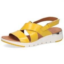 Caprice '28700' Ladies Sandals (Yellow)