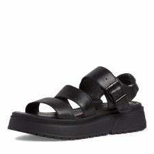 Tamaris '28706' Ladies Sandals (Black)