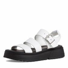 Tamaris '28706' Ladies Sandals (White)
