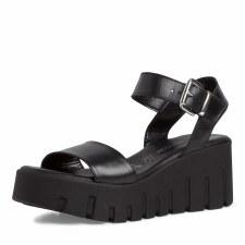 Tamaris '28708' Ladies Sandals (Black)
