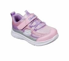 Skechers 'Comfy Flex 2.0' Girls Shoes (Pink Multi)