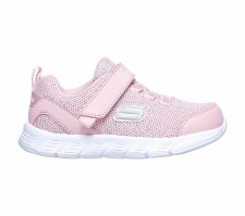 Skechers 'Comfy Flex - Moving On' Girls Shoes (Pink)