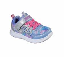 Skechers 'Comfy Flex 2.0 - Pixie Dazzle' Girls Shoes (Periwinkle)