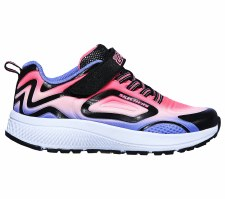 Skechers 'GOrun Consistent' Girls Trainers (Black Multi)
