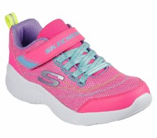 Skechers 'Snap Sprints - Eternal Shine' Girls Trainers (Pink Multi)