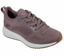 Skechers 'Bobs Sport Squad - Glam League' Ladies Trainers (Mauve)