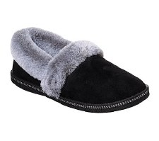Skechers 'Cali Cozy Campfire - Team Toasty' Ladies Slippers (Black)