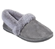 Skechers 'Cali Cozy Campfire - Team Toasty' Ladies Slippers (Charcoal)