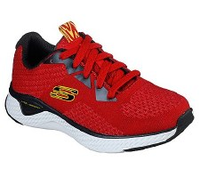 Skechers 'Solar Fuse - Kryzik' Boys Trainers (Red/Black)