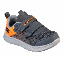 Skechers 'Comfy Flex 2.0 - Micro Rush' Boys Trainers (Grey/Orange)