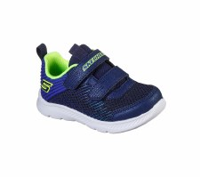 Skechers 'Comfy Flex 2.0 - Micro Rush' Boys Trainers (Navy/Blue)