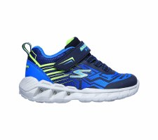 Skechers 'S Lights: Magna-Lights-Bozier' Boys Trainers (Navy/Blue)