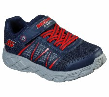 Skechers 'S Lights: Dynamic-Flash' Boys Trainers (Navy/Red)
