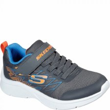Skechers 'Microspec - Texlor' Boys Trainers (Grey/Blue)