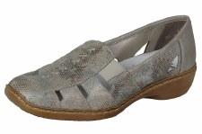 Rieker 'Dorris' Ladies Comfort Shoes (Antique Gold)