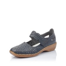 Rieker '41399' Ladies Shoes (Navy)