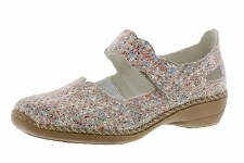 Rieker '413J2' Ladies Shoes (Beige)