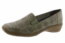 Rieker '413Q5' Ladies Shoes (Taupe)