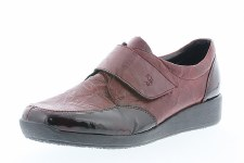Rieker '44058' Ladies Shoes (Bordo)