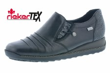 Rieker '44254' Ladies Shoes (Black)