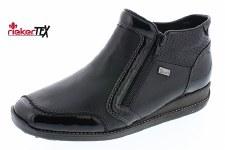 Rieker '44278' Ladies Ankle Boots (Black)
