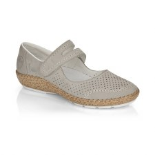 Rieker '44885' Ladies Shoes (Beige)