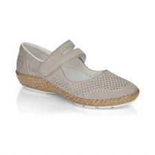 Rieker '44885' Ladies Shoes (Beige)