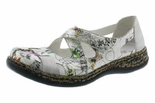 Rieker '463H6' Ladies Shoes (Ice Multi)
