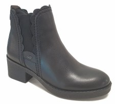 Atrai '4655' Ladies Ankle Boots (Black)