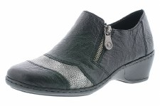 Rieker '47160' Ladies Shoes (Black)