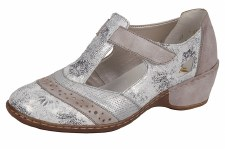 Rieker '47186' Ladies Shoes (White Multi)