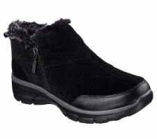 Skechers 'Relaxed Fit: Easy Going - Zip It' Ladies Ankle Boots (Black)