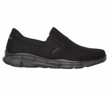 Skechers 'Equalizer - Double Play' Mens Shoes (Black)