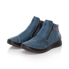 Rieker '51561' Ladies Ankle Boots (Navy)