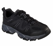 Skechers 'Relaxed Fit: Crossbar' Mens Shoes (Black)