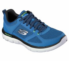 Skechers ' Flex Advantage 2.0' Mens Trainers (Blue)