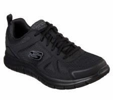Skechers 'Track' Mens Trainers (Black)