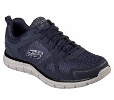 Skechers 'Track' Mens Trainers (Navy)