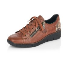 Rieker '53702' Ladies Shoes (Tan)