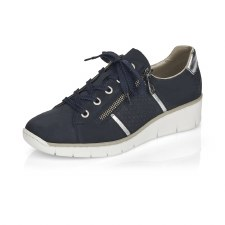 Rieker '53711' Ladies Shoes (Navy)