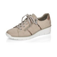 Rieker '53711' Ladies Shoes (Beige)