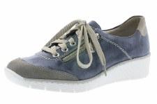 Rieker '53721' Ladies Shoes (Jeans/Dust)