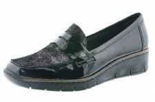 Rieker '53732' Ladies Shoes (Black)
