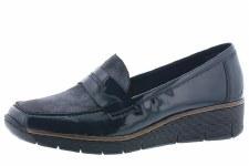 Rieker '53732' Ladies Shoes (Navy)