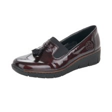 Rieker '53751' Ladies Shoes (Bordo)