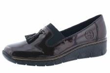 Rieker '53751' Ladies Shoes (Bordo)