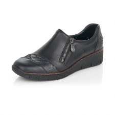 Rieker '53761' Ladies Shoes (Black)